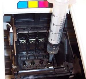 爱普生喷墨清洗打印头3