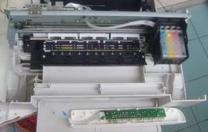 爱普生EPSON 打印机 不认墨盒 故障处理2